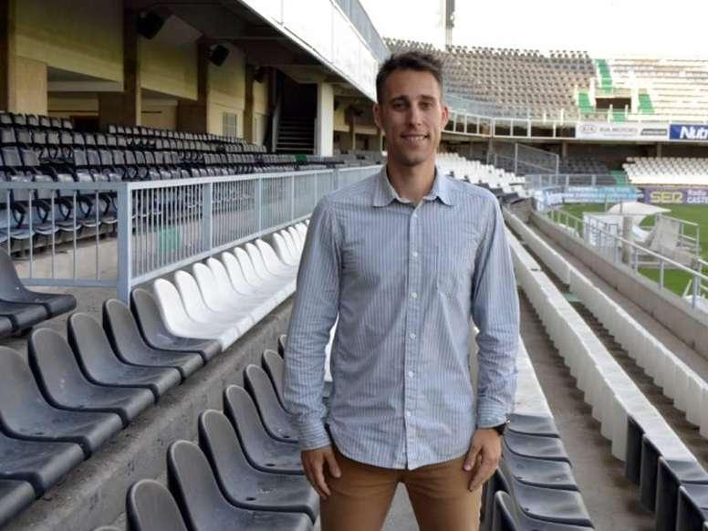 David Pérez, nuevo entrenador para el filial del Castellón. ElPeriódicoMediterráneo