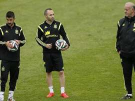 Villa podría seguir los pasos de Iniesta y Torres. EFE