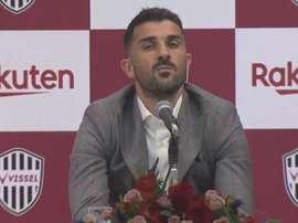David Villa anuncia aposentadoria