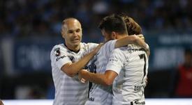 El Vissel Kobe ganó con gol de Villa. Twitter/visselkobe