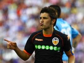 Davd Villa retourne au Valencia pour un hommage