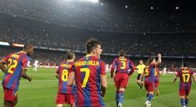 David Villa, goleador 'culé'. FCBarcelona