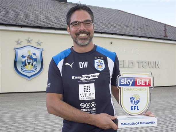 Wagner has led Huddersfield to fourth in the Championship. HTAFC