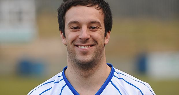 Davitt Walsh en su etapa como futbolista profesional. Irishtime