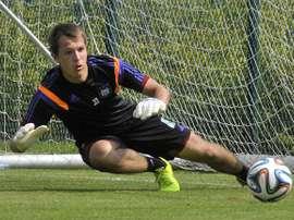Davy Roef podría volver a salir cedido del Anderlecht. RSCA
