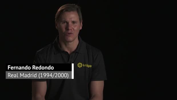 Fernando Redondo recuerda con cariño el tiempo que compartió con Del Bosque. DAZN