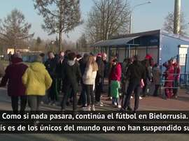 El fútbol sigue en Bielorrusia. DAZN