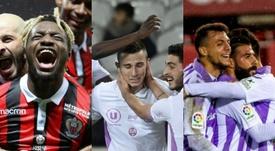Niza, Reims y Valladolid saben hacer mucho con poco. EFE/AFP