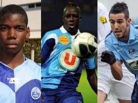 Pogba, Mendy y Mahrez salieron de Le Havre. Agencias