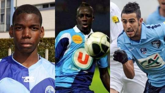 Pogba, mendy et Mahrez viennent du Havre. Agencias
