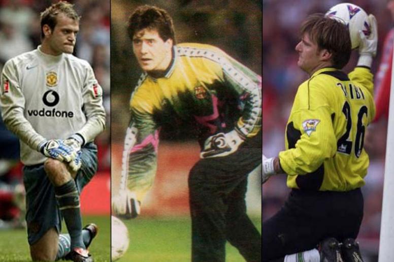 Roy Carroll, Carles Busquets y Massimo Taibi, tres porteros para olvidar. Varios