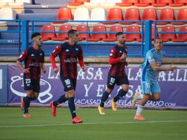 El Extremadura perdió ante el Badajoz. Twitter/EXT_UD