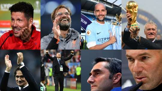 The candidates for FIFA's 'The Best Coach' award. BeSoccer