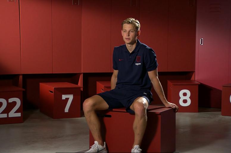 De Jong has spoken about his arrival at Barcelona. Barça TV