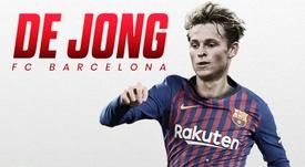 De Jong rejoint Barcelone. FCBarcelone