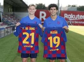 Aleñá llevará el '19'. FCBarcelona