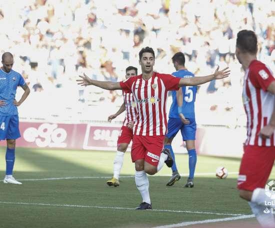 El Almería venció al Reus. LaLiga