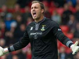 Dean Brill ha tenido un rendimiento irregular en el Inverness debido a las lesiones. Alchatron