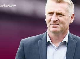 Dean Smith, nuevo entrenador del Aston Villa. AstonVilla