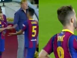 Pjanic debutó. Capturas/FCBarcelona