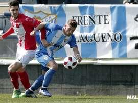 El Atlético Malagueño no pudo hacer nada. MalagaCF