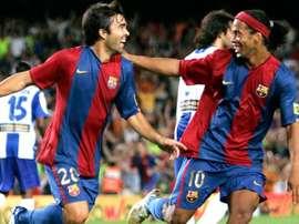 Deco deixou elogios a Ronaldinho Gaúcho. EFE