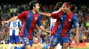 Deco assinou pelo Barcelona, que ofereceu muito menos dinheiro que o Chelsea. EFE