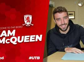 McQueen has joined the Teessiders on a season-long loan. MFC