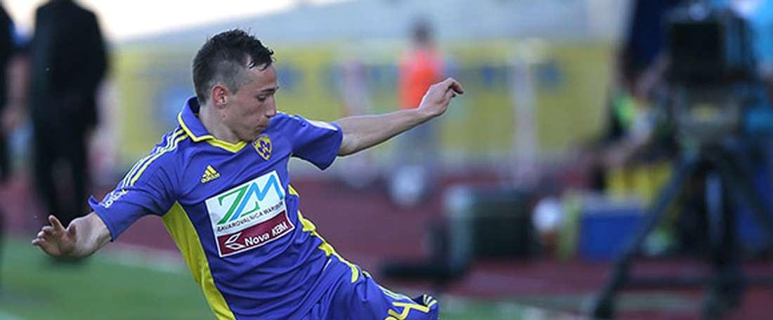 Trajkovski defenderá durante un año la camiseta del Twente. NkMaribor