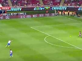 Del Fierro a marqué un but assez drôle. Twitter
