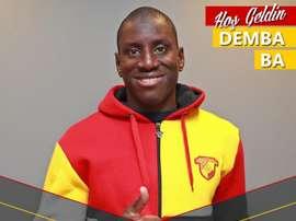 Demba Ba quiere volver a recuperar su forma tras su grave lesión. Göztepe
