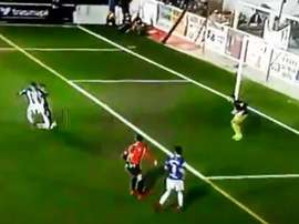 Demirovic marcó un auténtico golazo. Captura/beINLaLiga