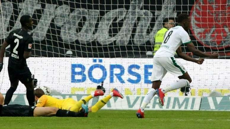 Denis Zakaria for Borussia Mönchengladbach. AFP