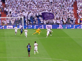 Dennis met le Real Madrid à terre pour la deuxième fois ! . Captura/Movistar+