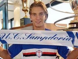 Praet se trouve dans l'orbite du St James Park. Sampdoria