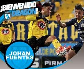 Deportes Iquique da la bienvenida a Johan Fuentes. ClubDIquique