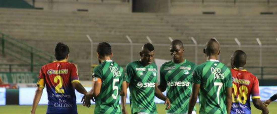 Pasto volvió a sumar una derrota. Imagen de archivo de un encuentro de Pasto. DeportivoPasto