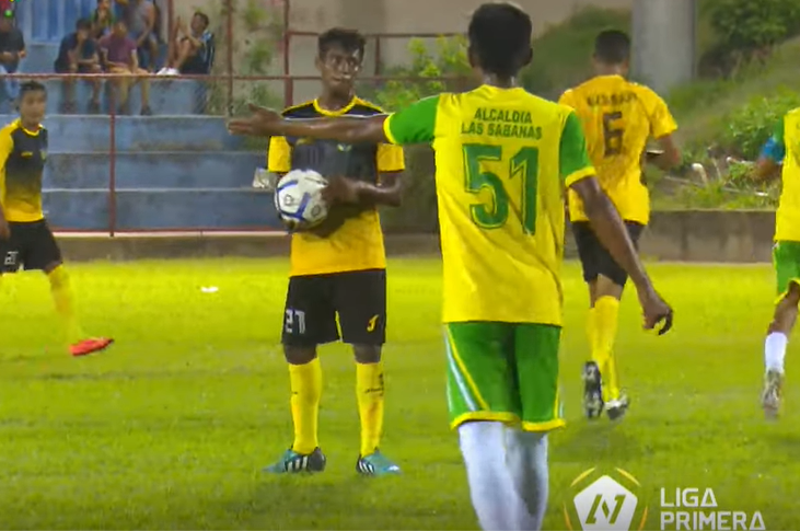 Deportivo Las Sabanas rompió su mala racha goleando. Youtube/LigaPrimera