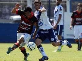 Deportivo Merlo despachó rápido a Defensores. Twitter