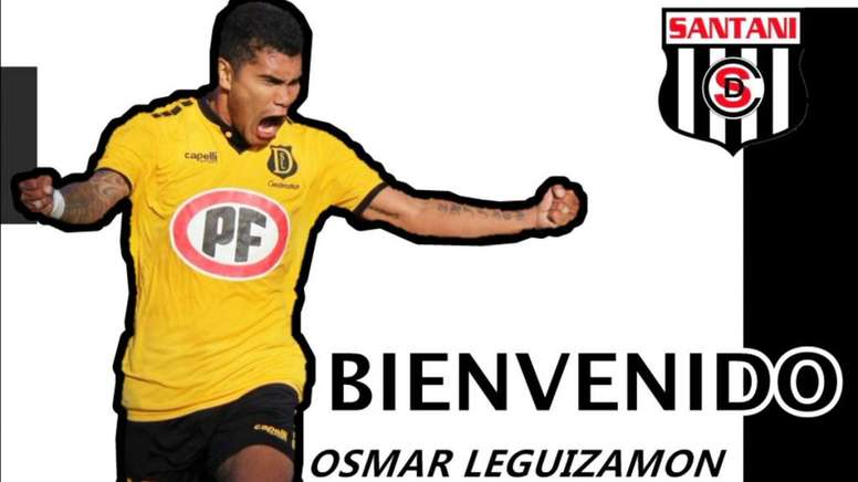 Osmar Leguizamón, nuevo fichaje de Deportivo Santaní. DeportivoSantaní