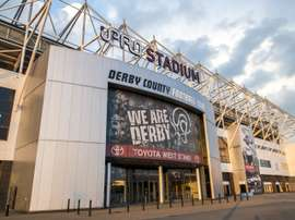 Derby County football grounds. Derby County FC