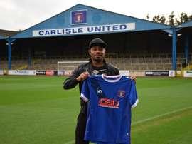 El Carlisle United ha vuelto a incorporar a Derek Asamoah a su plantel. CarlisleUnited