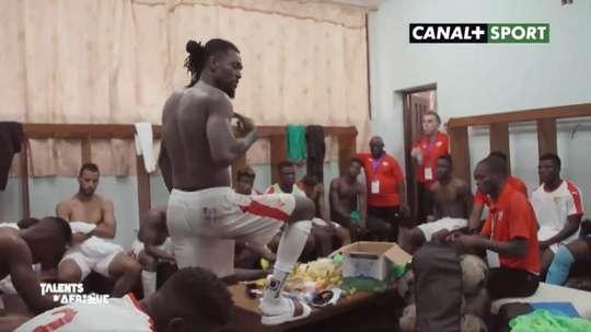 Dernier discours d'Adebayor avec le Togo. Capture / Canal + Sport Afrique