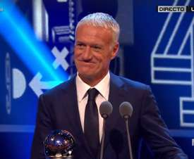Deschsmps' World Cup win won him the award. Captura MEGA
