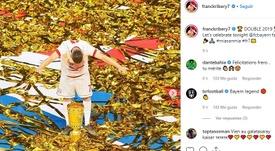 Ribéry se despidió en las redes. Captura/FranckRibery7