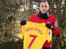 Gerard Deulofeu está no Watford, até ao final da época. EFE