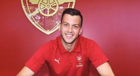 Deyan Iliev milita en el Arsenal Sub 23. Twitter/Arsenal