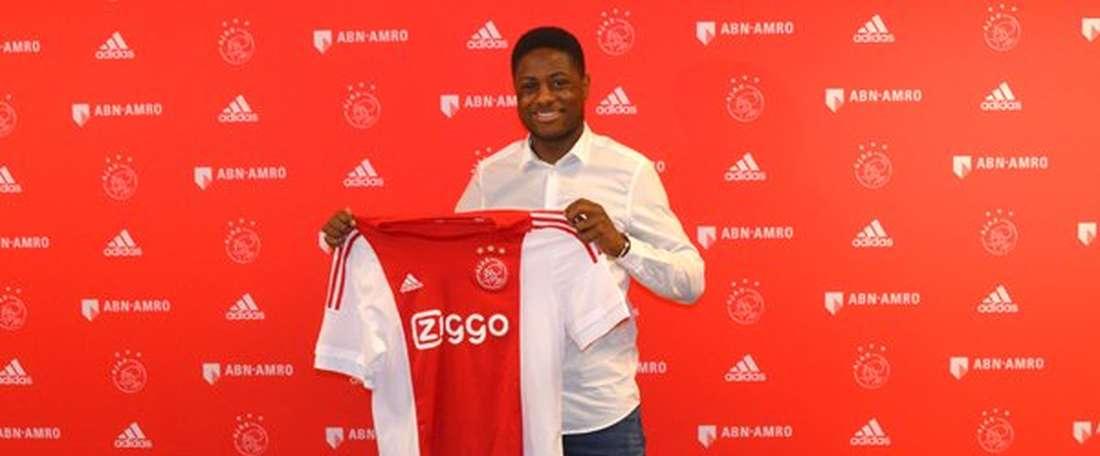 Deyovaisio Zeefuik llegó al equipo holandés con siete años. Ajax