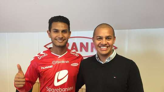 Deyver Vega is a new member of Brann football club. Twitter