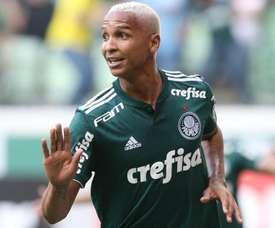 Deyverson aseguró que seguirá en Palmeiras. Twittter/Palmeiras